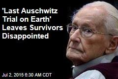 At 'Last Auschwitz Trial on Earth,' ex-Nazi Seeks Mercy—God's