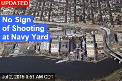 Navy Yard Locked Down on Reports of Shots Fired