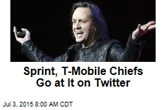 Sprint, T-Mobile Chiefs Go at It on Twitter