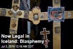 Now Legal in Iceland: Blasphemy