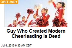 Why Cheerleading Photos Might Show Up a Lot Today