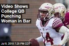 FSU Quarterback Said to Punch Woman in Bar