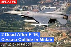 F-16, Cessna Collide Mid-air in SC