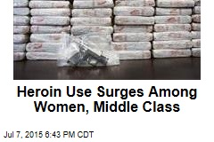 Heroin Use Surges Among Women, Middle Class