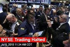 NYSE Trading Halted