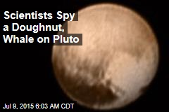 Scientists Spy a Doughnut, Whale on Pluto