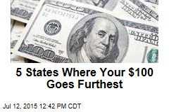 5 States Where Your $100 Goes Furthest
