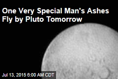 One Very Special Man's Ashes Fly by Pluto Tomorrow