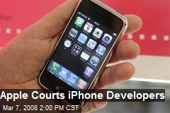 Apple Courts iPhone Developers