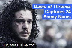 Game of Thrones Captures 24 Emmy Noms