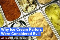 Why Americans Thought Ice Cream Parlors Were Evil