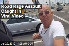 Road Rage Assault Caught in Viral Video