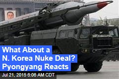 What About a N. Korea Nuke Deal? Pyongyang Reacts