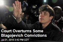 Court Overturns Some Blagojevich Convictions