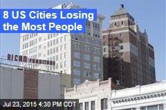 8 US Cities Losing the Most People