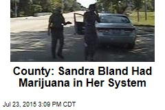 County: Sandra Bland Had Marijuana in Her System