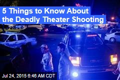 Cops: Theater Shooter Had 'Criminal History'