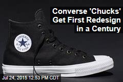 Converse 'Chucks' Get First Redesign in a Century