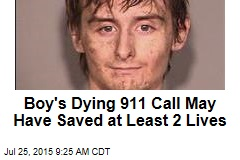 Boy's Dying 911 Call May Have Saved at Least 2 Lives