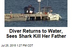 Diver Returns to Water, Sees Shark Kill Her Father