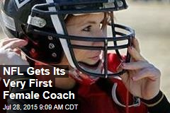 NFL Gets Its Very First Female Coach
