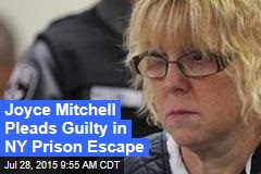 Joyce Mitchell Pleads Guilty in NY Prison Escape
