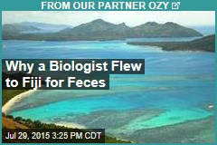 Why a Biologist Flew to Fiji for Feces
