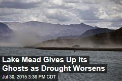Lake Mead Gives Up Its Ghosts as Drought Worsens
