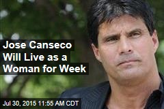 Jose Canseco Will Live as a Woman for Week