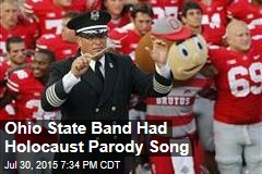 Ohio State Band Had Holocaust Parody Song