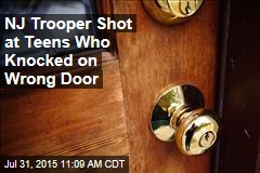 NJ Trooper Shot at Teens Who Knocked on Wrong Door