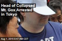 Head of Collapsed Mt. Gox Arrested in Tokyo