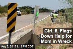 Girl, 5, Takes Action for Mom in Scary Car Wreck