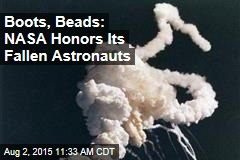 Boots, Beads: NASA Honors Its Fallen Astronauts