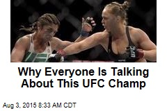 Why Everyone Is Talking About This UFC Champ