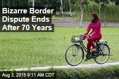 Bizarre Border Dispute Ends After 70 Years
