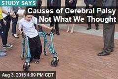 Causes of Cerebral Palsy Not What We Thought