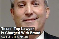 Texas' Top Lawyer Is Charged With Fraud