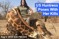 US Huntress Poses With Her Kills