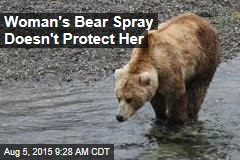 Woman's Bear Spray Doesn't Protect Her