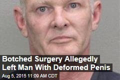 Botched Surgery Allegedly Left Man With 1-Inch Penis