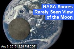 NASA Scores a Rarely Seen View of the Moon