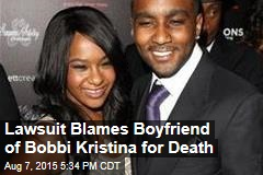 Lawsuit Blames Boyfriend of Bobbi Kristina for Death