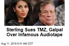Sterling Sues TMZ, Galpal Over Infamous Audio Tape