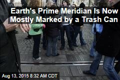 Earth's Prime Meridian Is Now Mostly Marked by a Trashcan