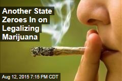 Another State Zeroes In on Legalizing Marijuana
