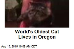 World's Oldest Cat Lives in Oregon