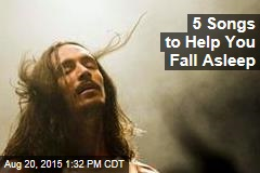 5 Songs to Help You Fall Asleep
