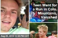 Teen Went for a Run in Colo. Mountains, Vanished