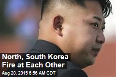 Rockets, Shells Fired Across Korean Border